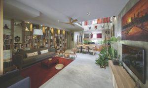 landed modern house renovation singapore