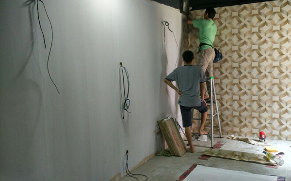 Wallpaper Installation Services Singapore Renovation